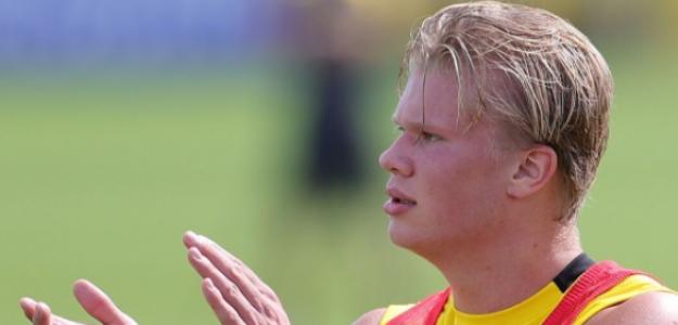 """Erling Haaland, acostumbrado a la ausencia de normalidad en el Borussia Dortmund """"Foto: Bundesliga.es"""""""