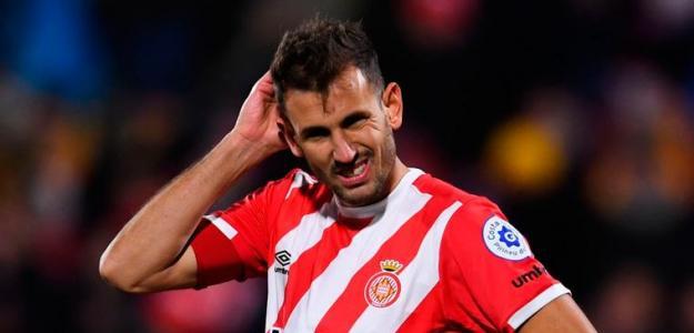 Stuani en un partido con el Girona / fcbarcelonanoticias.com
