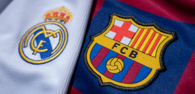 """""""Realidades contrapuestas un mes más tarde entre Madrid y Barça. Foto: Getty Images"""""""