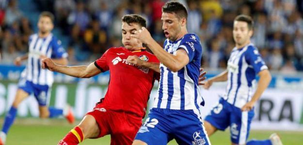 Calleri en un partido con el Alavés / rtve.es