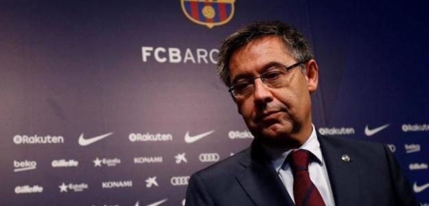 Bartomeu en un acto / Barça