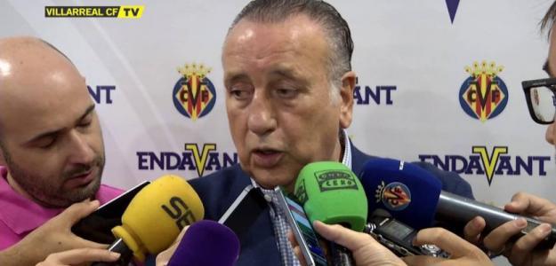 Fernando Roig en rueda de prensa. Foto: Villarrealcf.es