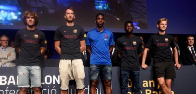 Las caras nuevas del Barça. Foto: Mundo Deportivo