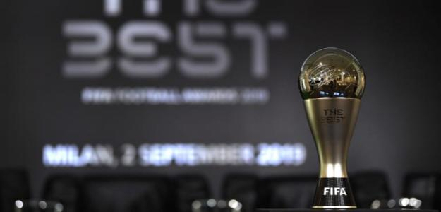 El premio The Best. / fifa.com