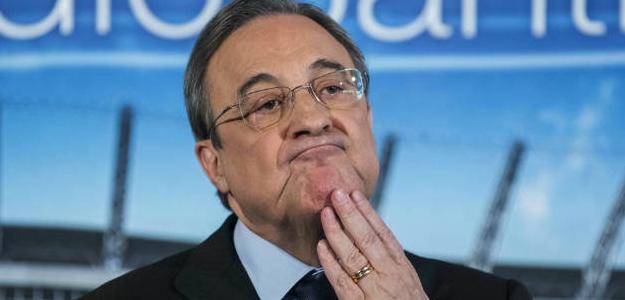 Florentino Pérez en un acto con el Madrid / Foto: Real Madrid