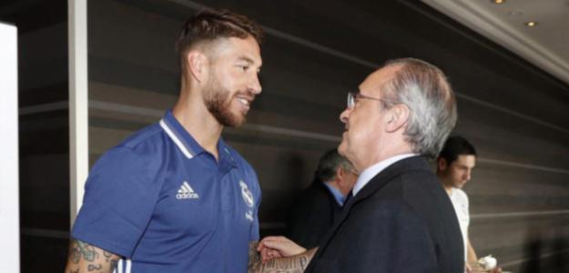 Florentino y Ramos asientan las bases de la renovación. Foto: Marca