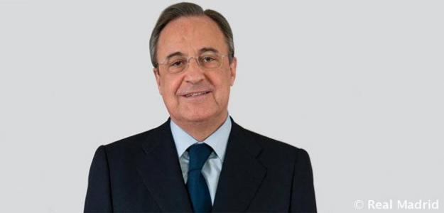 Florentino Pérez. Foto: Real Madrid.