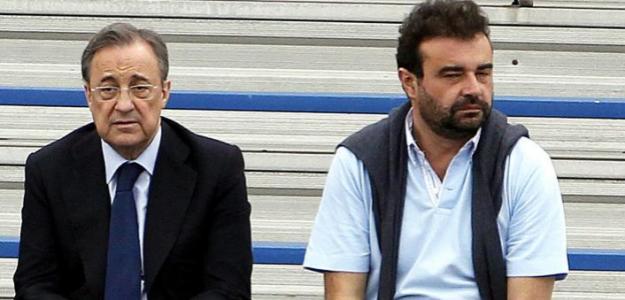 Florentino Pérez y José Ángel Sánchez / Sportyou.
