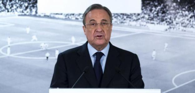 Florentino Pérez. Foto: Getty.