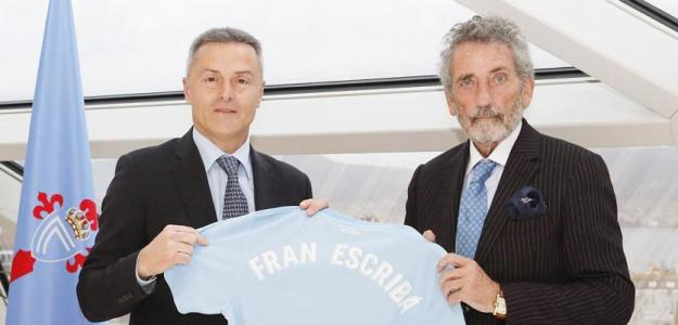 Fran Escribá ha conseguido mantener al Celta de Vigo en Primera División / RC Celta de Vigo