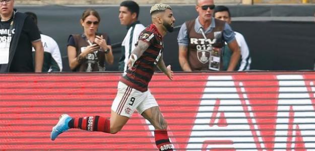 Gabigol habló con Neymar antes de la final