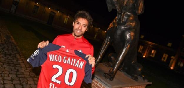 Nico Gaitán vuelve a Europa. Foto: Lille