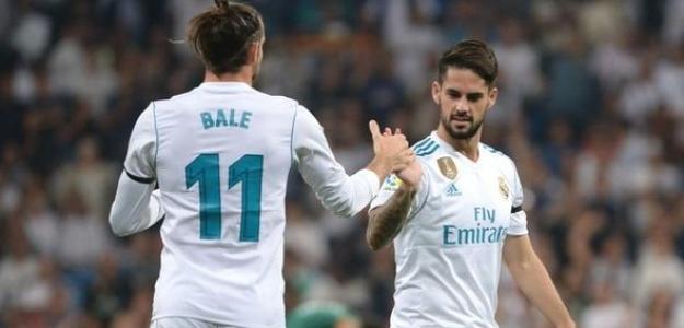 Bale e Isco celebran un gol juntos (Express)