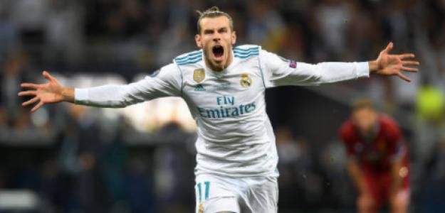 """""""Los números de Gareth Bale en su etapa como jugador del Real Madrid. Foto: Getty Images"""""""
