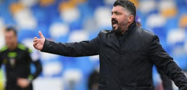 """El Tottenham aparece como salvoconducto para Gattuso """"Foto: Serie A"""""""