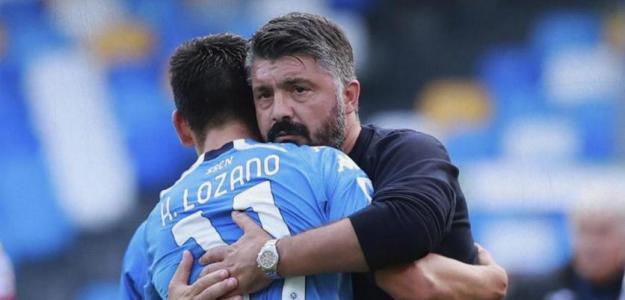 Gattuso-Napoli: renovación a la vista. Foto: futboltotal.com.mx