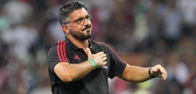 Gennaro Gattuso, técnico del AC Milán. Foto: Uefa.com