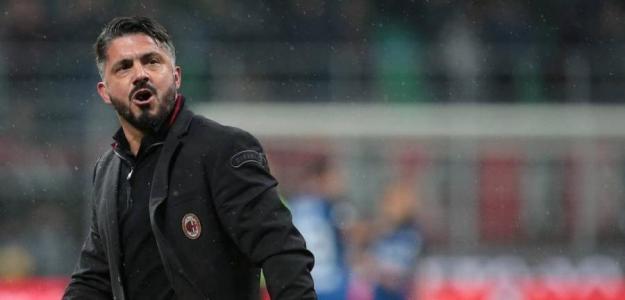 Gattuso celebra una victoria del Milan / Foto: Getty