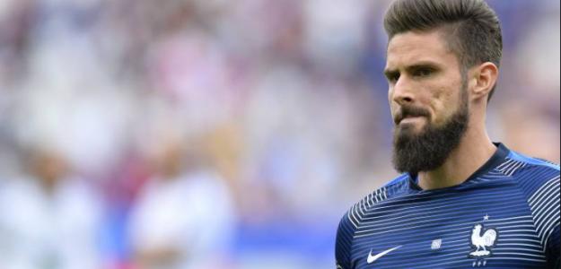 """Giroud también es una opción para el Barça """"Foto: BleacherReport"""""""