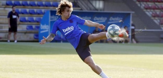 Algunos renconres se mantienen entre Griezmann y su afición. Foto: FCBarcelona