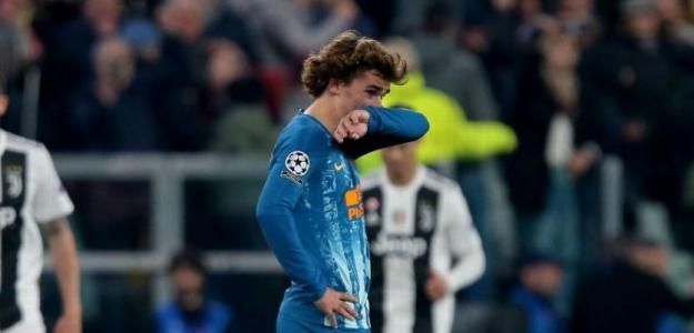 Antoine Griezmann tras caer ante la Juventus / Atlético