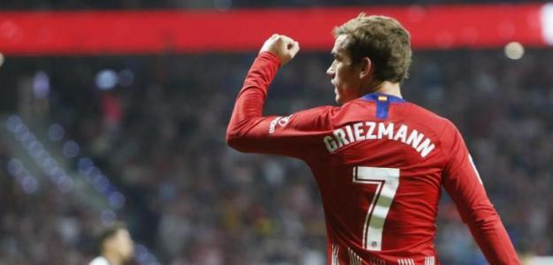 Antoine Griezmann, delantero del Atlético de Madrid / LaLiga