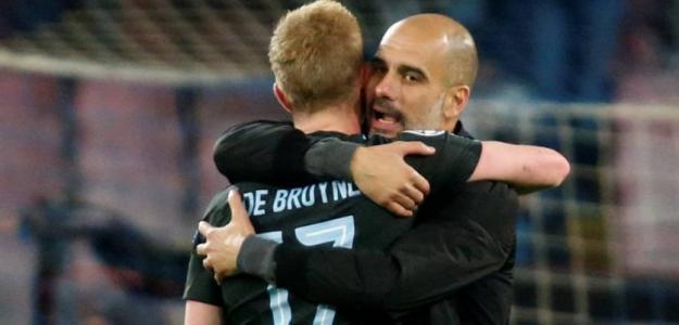 Guardiola y De Bruyne, una asociación inmejorable.