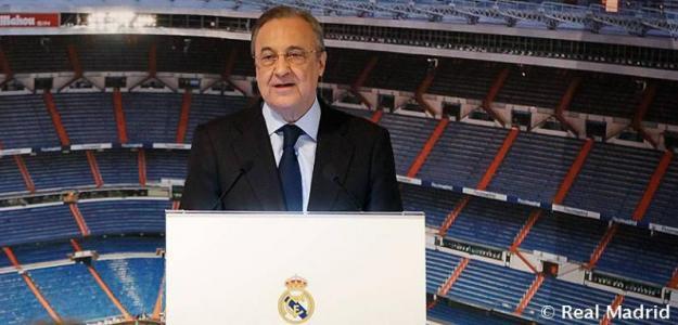 Florentino Pérez / Real Madrid.