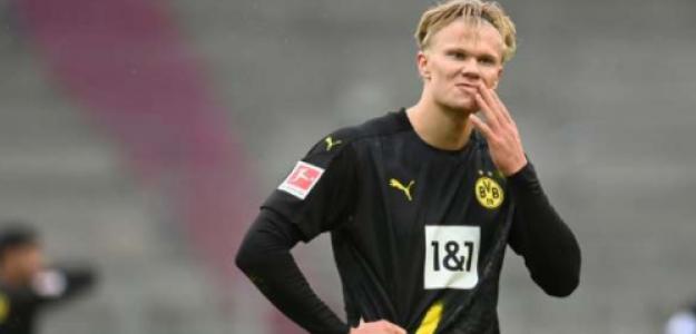 """¿Y si el futuro de Erling Haaland está en la Bundesliga, pero lejos del Borussia Dortmund? """"Foto: Bild"""""""
