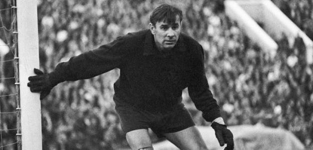 Lev Yashin durante un partido. / es.rbth.com