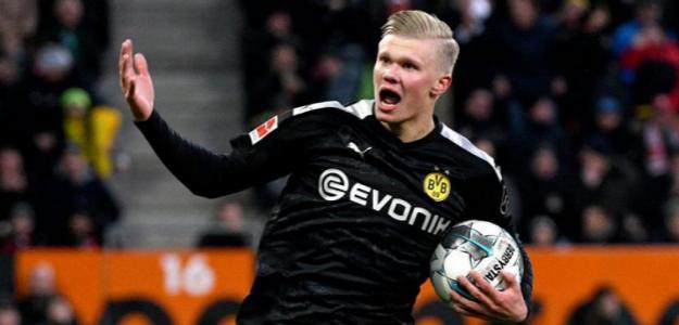 Haland y los debuts estelares de los delanteros en el Dortmund