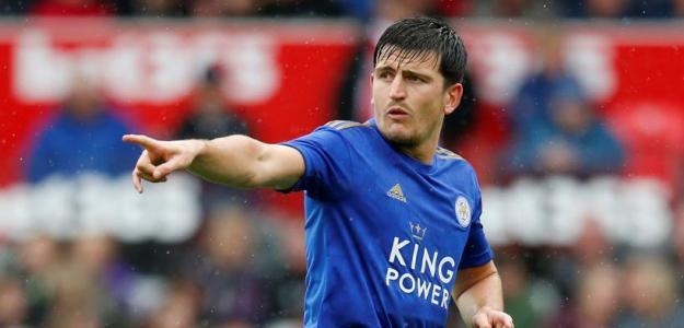 El Leicester ya tiene en la mira a dos posibles suplentes de Harry Maguire. FOTO: LEICESTER