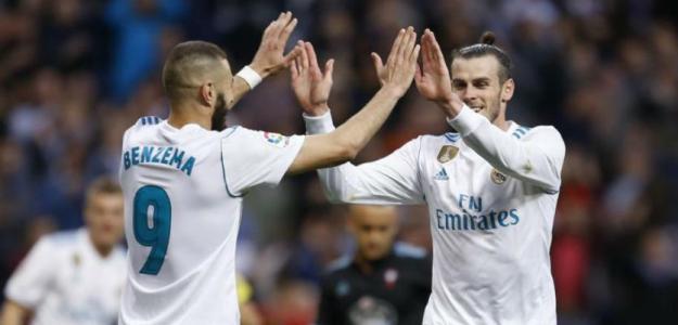 Karim Benzema y Gareth Bale, en un partido del Real Madrid / Marca.