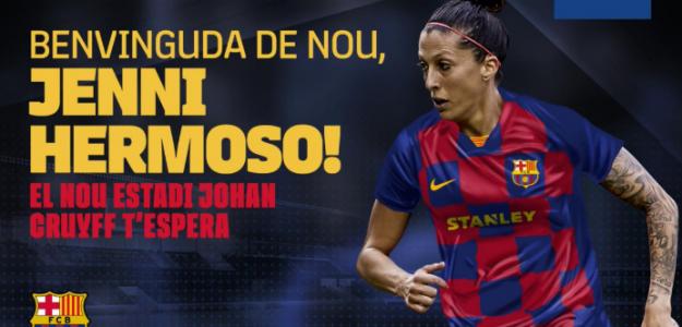 Jennifer Hermoso regresa al FC Barcelona / FC Barcelona