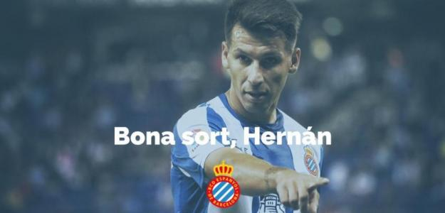 Hernán Pérez dice adiós al RCD Espanyol / RCD Espanyol