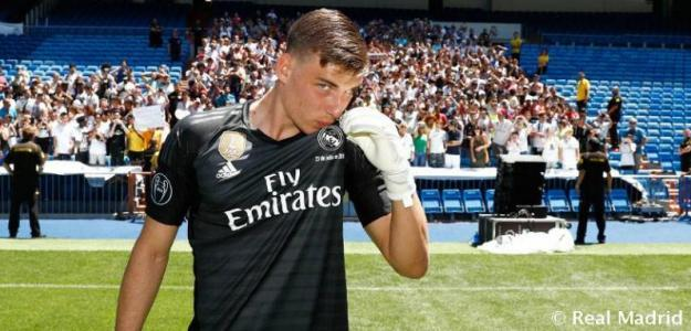 Andriy Lunin / Real Madrid.