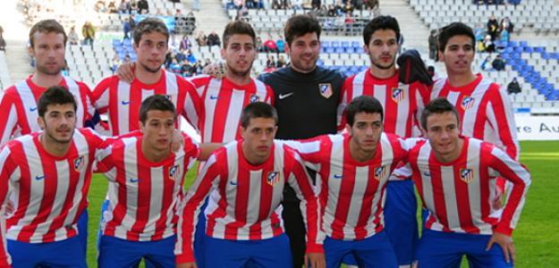 Iago Herrerín, portero del Atlético de Madrid B/ Atleticodemadrid.com