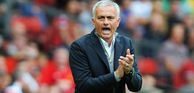 Mourinho, con el United (EFE)