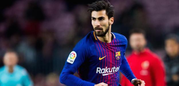 André Gomes, con el Barcelona / twitter