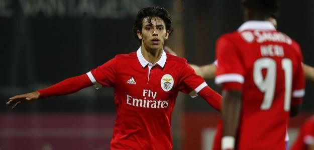 Joao Félix en un partido con el Benfica / Youtube.