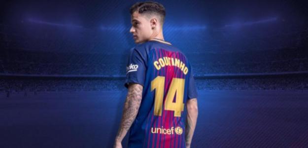 Coutinho, el día de su fichaje (FC Barcelona)