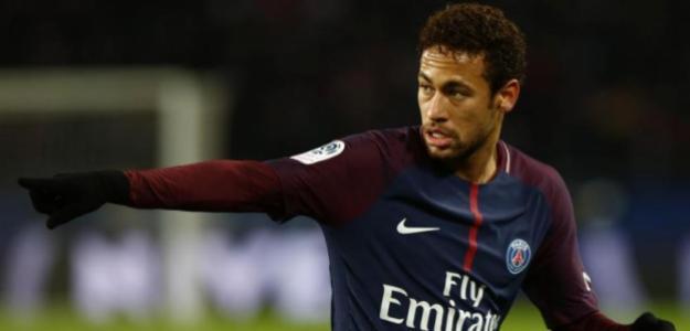 Neymar, con el PSG (EFE)
