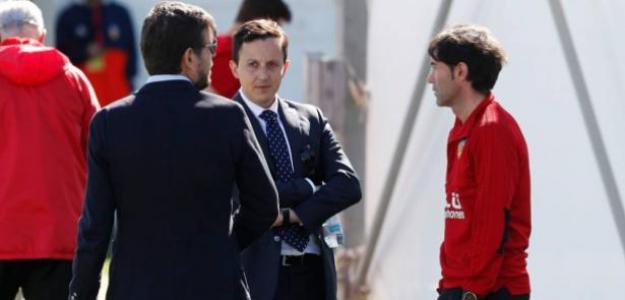 Importante reunión entre Marcelino, Alemany y Longoria / Deportevalencia.com