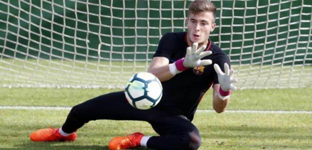 Fichajes FC Barcelona: Iñaki Peña acompañará a Ter Stegen en la portería culé 21/22. Foto: FC Barcelona