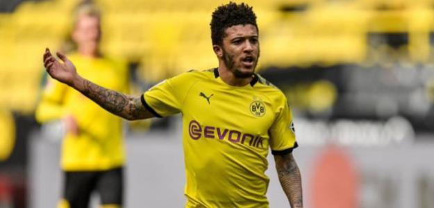 Jadon Sancho no se moverá del Borussia Dortmund. Foto: AS