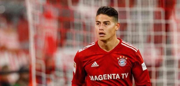 James en un partido con el Bayern / Youtube