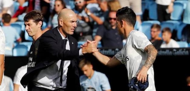 El grave perjuicio de Zidane a James Rodríguez