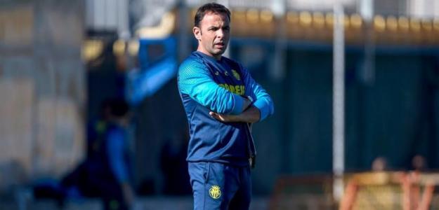 Javi Calleja en un entrenamiento del Villarreal. Foto: Youtube.com