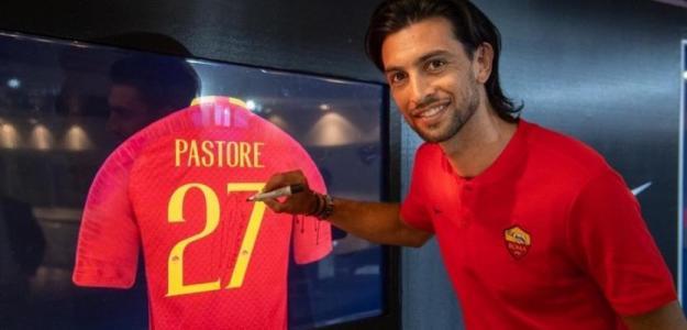 Javier Pastore con la camiseta de la Roma. Foto: Youtube.com