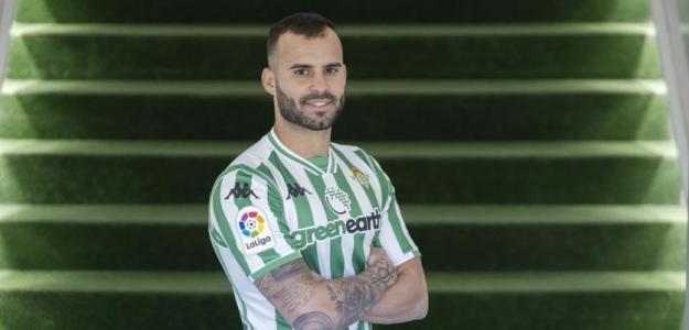 Jesé Rodríguez con la camiseta verdiblanca. Foto: RealBetisBalompie.es